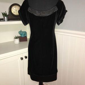 GNC - Little Black Dress in Velvet